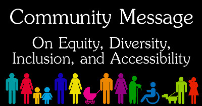 Equity, Diversity, Inclusion, and Accessibility